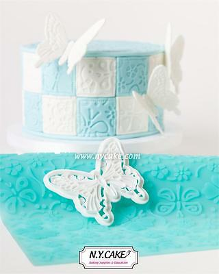 NY Cake Impression Mat - Silicone - Butterfly