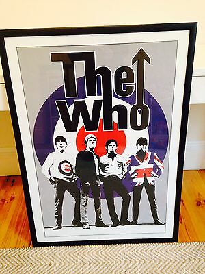 The Who - Mod - Framed Poster