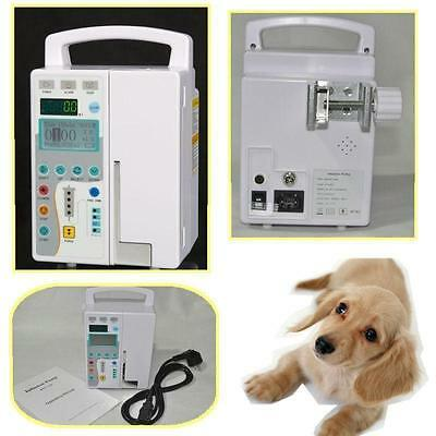 New Infusion Pump IV & Fluid Administration Audible and visual alarm LCD display