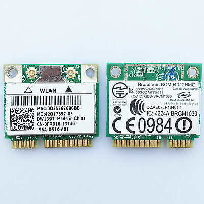 Dell Dw1397, Inspiron 1545, Wireless Wifi Card Kw770 Bcm94312Hmg