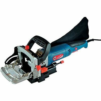Silverstorm Biscuit Joiner For Hard and Soft Woods with Lock Off Button 900 Watt