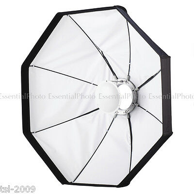 """24""""/60cm Collapsible White Beauty Dish / Softbox Kit (2 in 1) S-Type Fitting"""