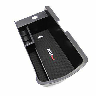 Vehicles Organizer Armrest Storage Box Container Accessories For Peugeot 3008#S