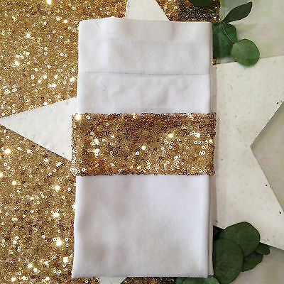 Sequin Napkin Holders - 4 Pack