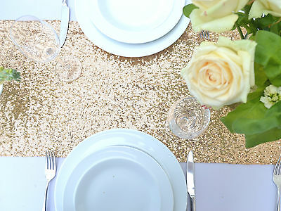 Sparkly Sequin Table Runners - 20 Colours Available