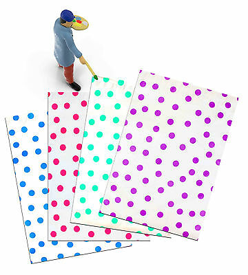 """10"""" x 13"""" Polka Dot Poly Mailers, Hot Pink,Teal,Purple,Blue Colored Flat Mailers"""