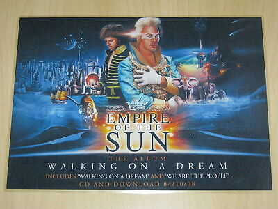 Empire Of The Sun - Walking On A Dream - Laminated Promo Poster