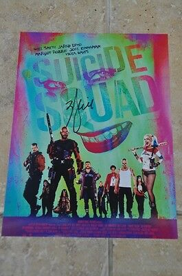 "Will Smith Signed 10.5"" x 8"" Suicide Squad Colour Photo"