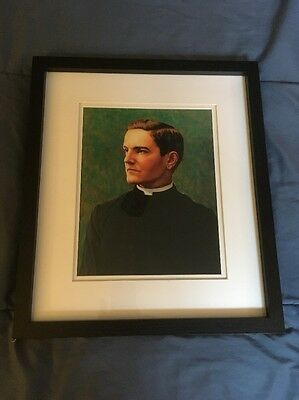 Knights Of Columbus Founder Father Michael McGivney Portrait