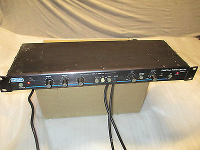 80's MXR DIGITAL TIME DELAY 1000ms - made in USA