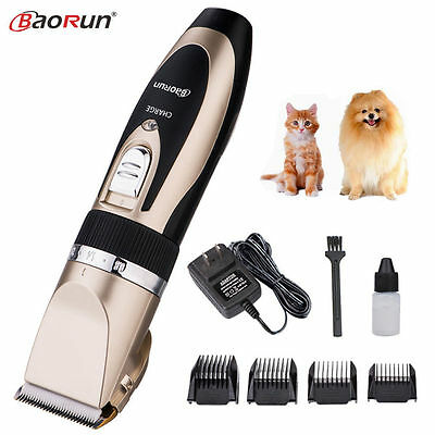 Professional Grooming Kit Electric Pet Cat Dog Hair Trimmer Clipper Shaver Set