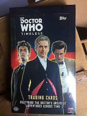 Doctor Who Timeless Sealed Box Topps Autograph Autos Rare