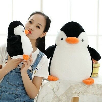 Stuffed Baby 45cm/17.71'' Valentine Toy Black Madagascar Penguin Doll Gift