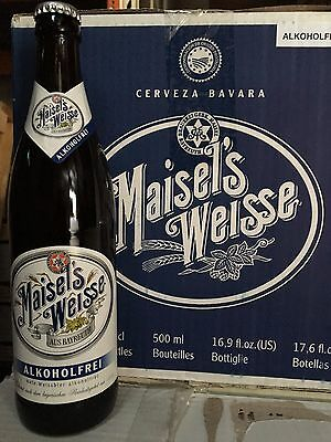 Case of alcohol free beer - Maisels Alkoholfrei Wheat Beer - 20 x 500ml