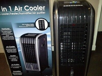 Mobile Air Cooler & Humidifier Daewoo 4-in-1 Air Cooler with remote control