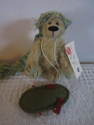 adorable FRITZI ltd edition 191/1000 KATRIN MULLER mohair TEDDY HERMANN