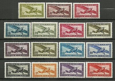 Complete series 15 new stamps*  French INDOCHINA   Air Mail 1942/44  (5132)