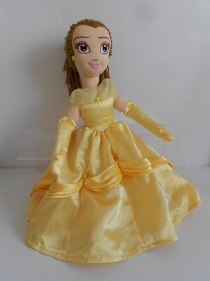 """DISNEY'S BEAUTY & THE BEAST """"BELLE"""" 17"""" SOFT TOY - PRINCESS by DISNEY STORE"""
