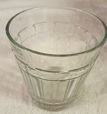 USA Longaberger Woven Tradition Glassware Tumbler (12 oz) Shorter Drinking Glass