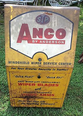 Anco Wiper Display Gas Station Cabinet On Wheels