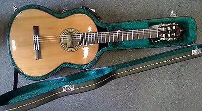 Admira A10 handcrafted Spanish made classical guitar, solid top,with hard case!!