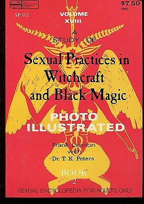 SEXUAL PRACTICES IN WITCHCRAFT &  BLACK MAGIC No. 2 1971 Edward Wood Jr. Book NM