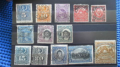 LOT CHILE  Classic Old Stamps Rare