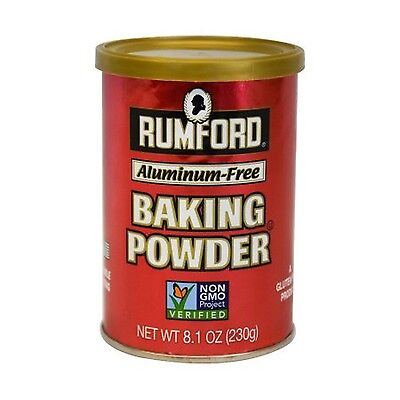 Rumford Premium Aluminum-Free Baking Powder 10 oz New
