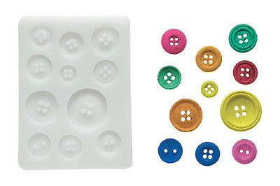 Silikomart Silicone Mould - Buttons - Round