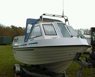 fishing boat in fantastic condition