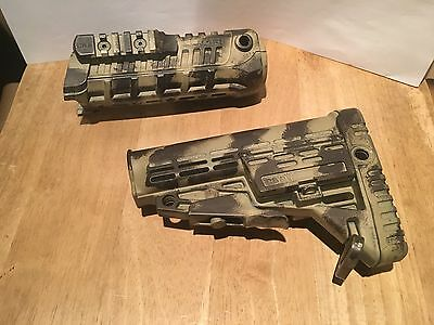 Airsoft Caa M4S1 Foregrip + Stock