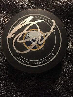 Jack Eichel Buffalo Sabres Signed Official NHL Game Puck