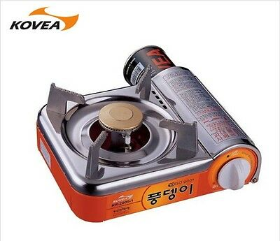 KOVEA BEETLE Stainless Mini GAS Range KR 20051 OUTDOOR INDOOR Camping Cooking