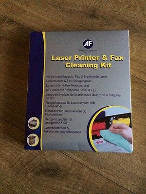 Af Lfc000 -  Laser & Fax Cleaning Kit Plain Paper Fax And Laser