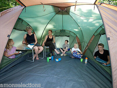 Skandika 6 Man Person Tent Camping Festival Extra Large Outdoor Shelter