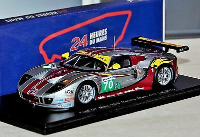 Ford Gt Marc Vds Racing Team #70 Le Mans 2010 Rare Spark S2576 1:43