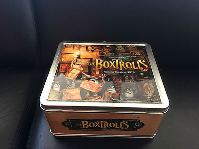 The Boxtrolls  movie promo  Lunchbox / not for retail sale