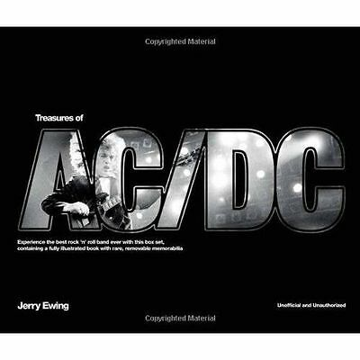 Treasures of AC/DC by Jerry Ewing and Chris Ingham (2012, Hardcover) Book