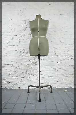 Vintage Singer Mannequin Tailors Dummy - Retro Dress Making Sewing Clothes Stand