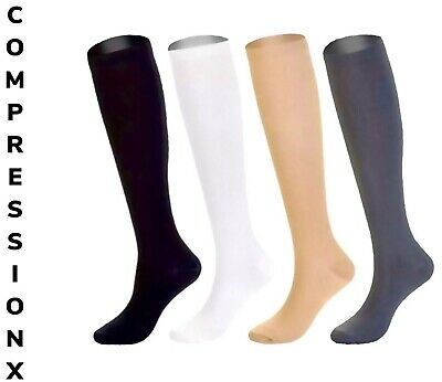4 PAIRS of Compression Support Socks Graduated Men's Women's