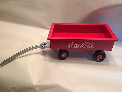 Coca Cola Wooden Collectible Wagon  - Retired