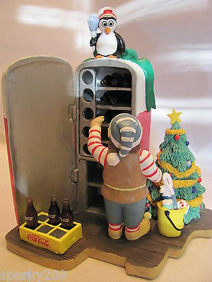 Coca Cola - North Pole Bottling Works Collection - An Elf's Favorite Chore