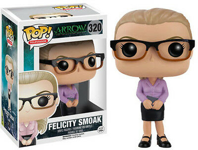 Arrow - Felicity Smoak - Funko Pop! Television (2016, Toy NEU)