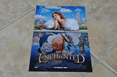 "Timothy Spall Signed 12"" x 8"" Colour Photo Walt Disney Enchanted"