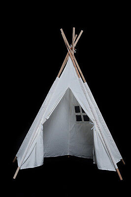 5 Foot Tepee Tent Wigwam Indoor/Outdoor Use - Pretend Play  *  Brand New