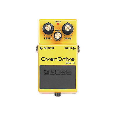 Boss OD-3 Overdrive Electric Guitar Effects Pedal