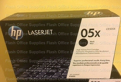 GENUINE HP 05X CE505X Laserjet P2055 Toner Cartridge FAST_SAME_DAY_POST