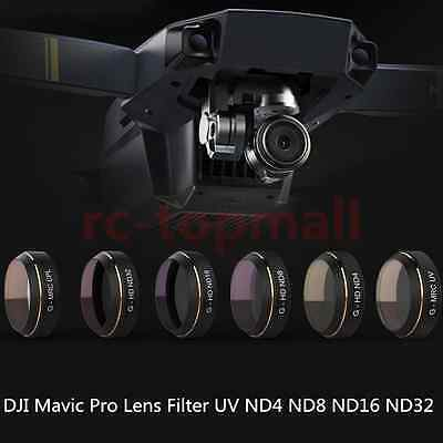 1 * UV/ND4/ND8/ND16/ND32/HD Lens Filter for DJI Mavic Pro Drone lens accessories