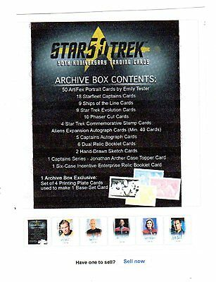 Star Trek TOS 50th Anniversary  Archive Box presale due on January 18