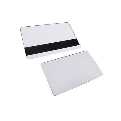 "50 Blank Inkjet PVC Cards with 1/2"" HiCo Magnetic Stripe for epson & canon print"